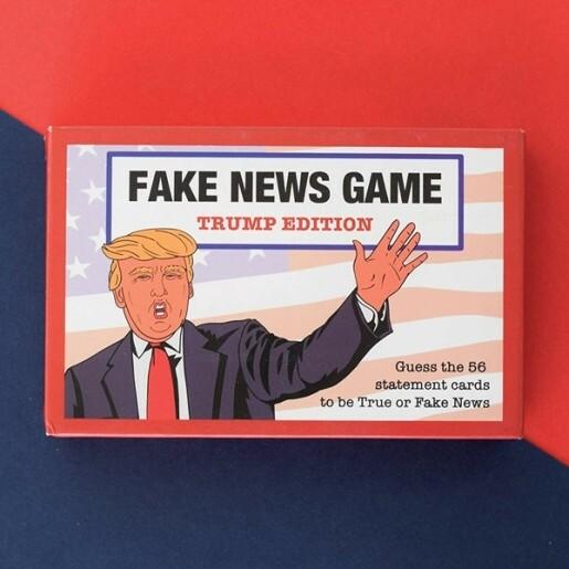 Fake News Game Trump Edition
