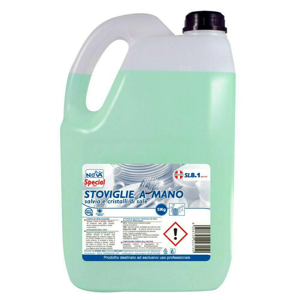 5 kg Detergente Lavastoviglie Limone