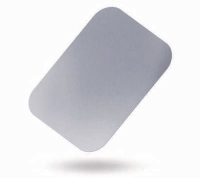 100 Coperchi Vaschetta Allumino - 4 Porzioni