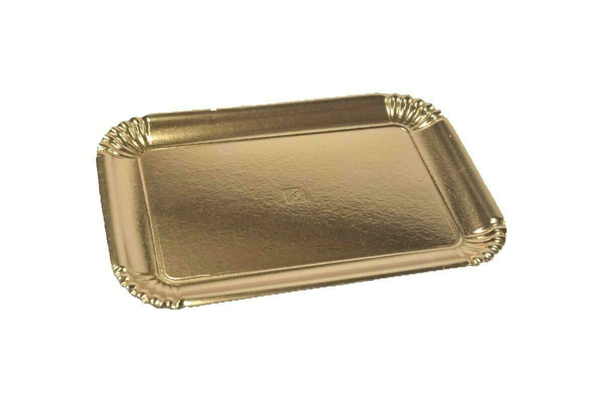 10 Kg Vassoi Cartone Oro N. 7S=8