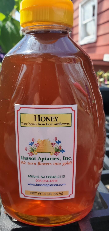 Plastic Bottle Honey (2 LB)