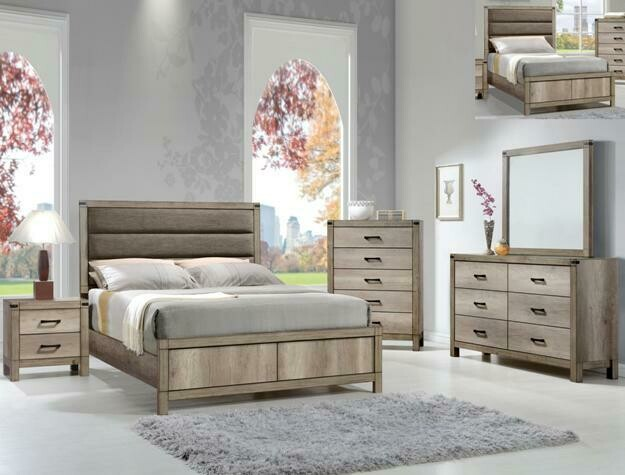 Matty 3 Piece Bedroom Set