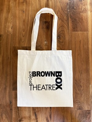 Brown Box Tote Bag