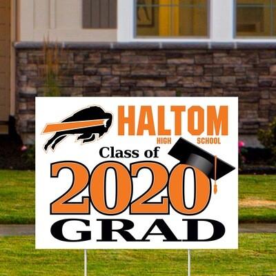 Haltom High School (4 styles)