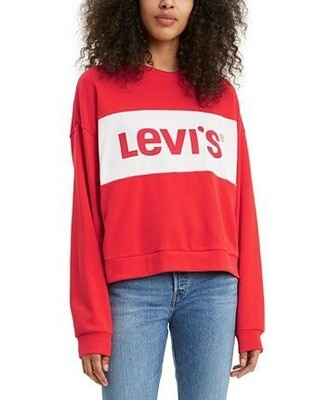 Levi's Madison Crew Sweatshirt Red