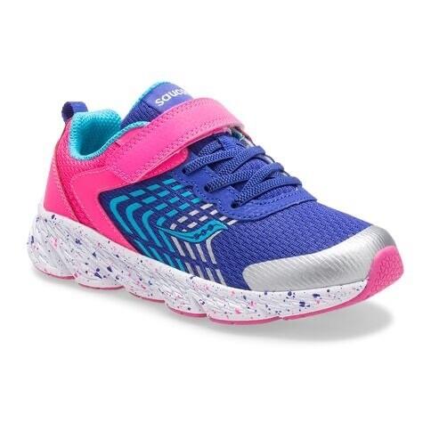 Saucony S-Wind Kid's Sneaker Pink/Blue