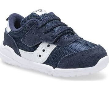 Saucony Jazz Riff Toddler Sneaker Navy