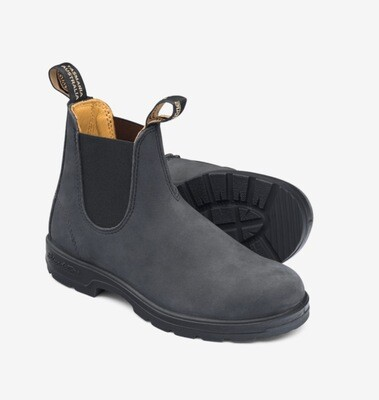 Blundstone 587 Washed Black Boot