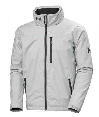 Helly Hansen Crew Jacket Waterproof Light Grey