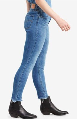 Levi's 721 Ankle Fray Culture Blue