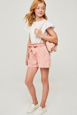 Hayden Printed Short Blush