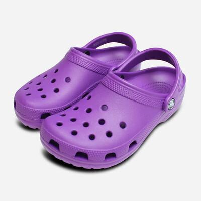 Kid's Classic Crocs Purple