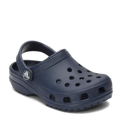 Kid's Classic Crocs Navy