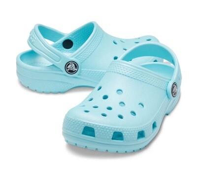 Kid's Classic Crocs Aqua