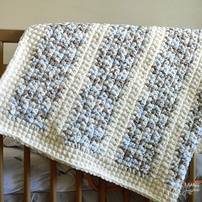 Quick & Easy Crochet Baby Blanket Pattern