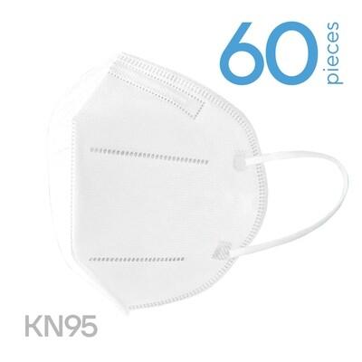 60 x FFP2 (KN95) respiratory face masks