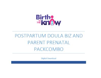 Postpartum Doula Biz Packet