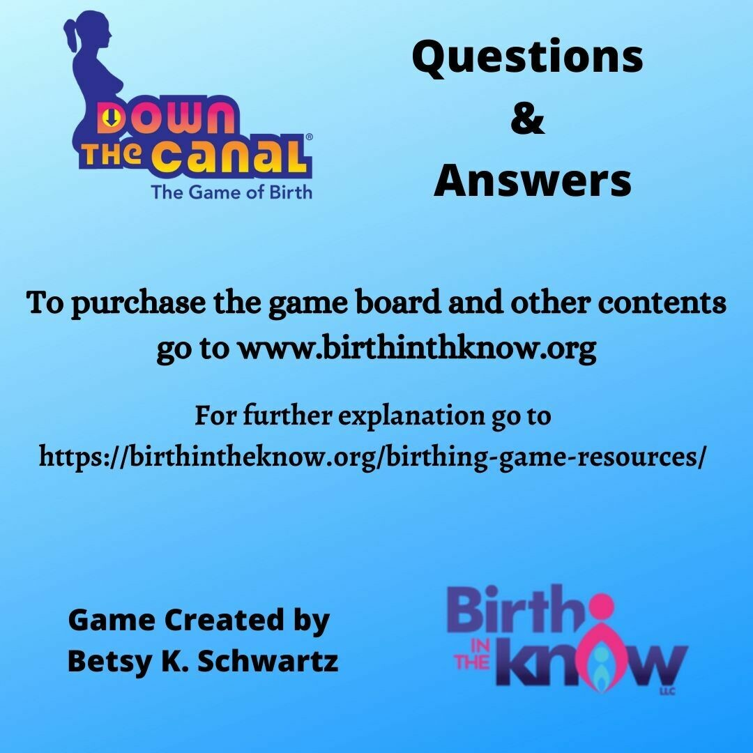 Down the Canal 240 Questions