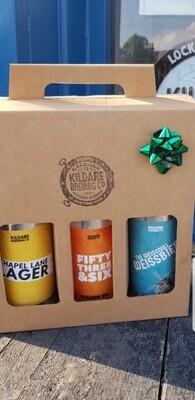 3 KBC Beer Gift Pack