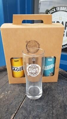KBC Gift Pack (2 KBC Beers & KBC Branded Pint Glass)