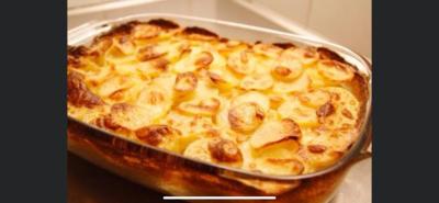 White Cheddar Au gratin Potatoes, Per pound