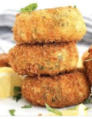 Maryland Style Crab Cakes Available Friday Per  Each