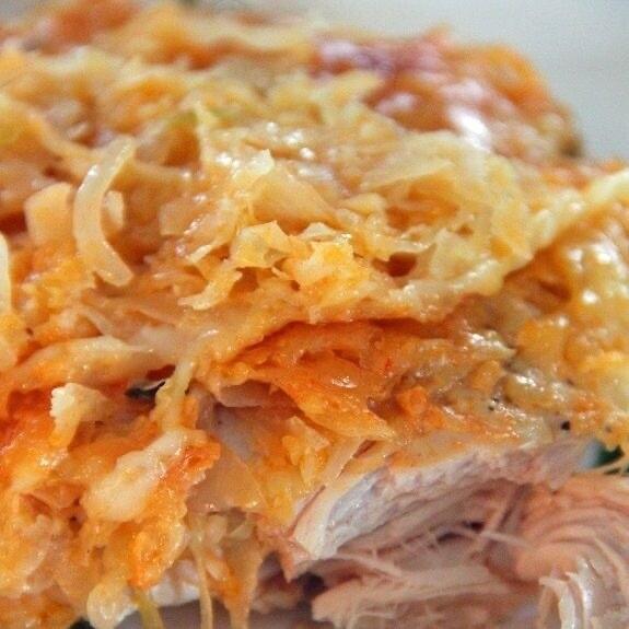 Rueben Chicken Per Serving