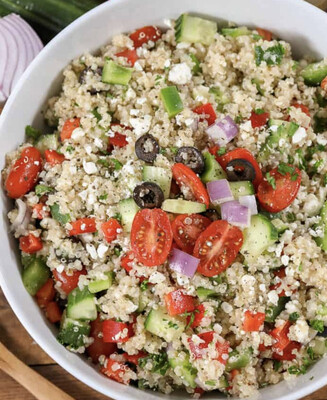 Greek Quinoa Salad Available Friday Per Pound