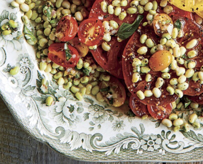 Lady peas And Heirloom Tomatos Per Pound