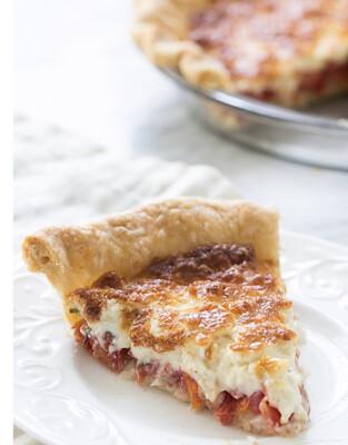 Tomato Pie Per Slice