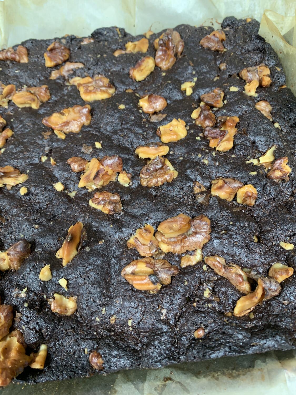 Brownie-Walnut