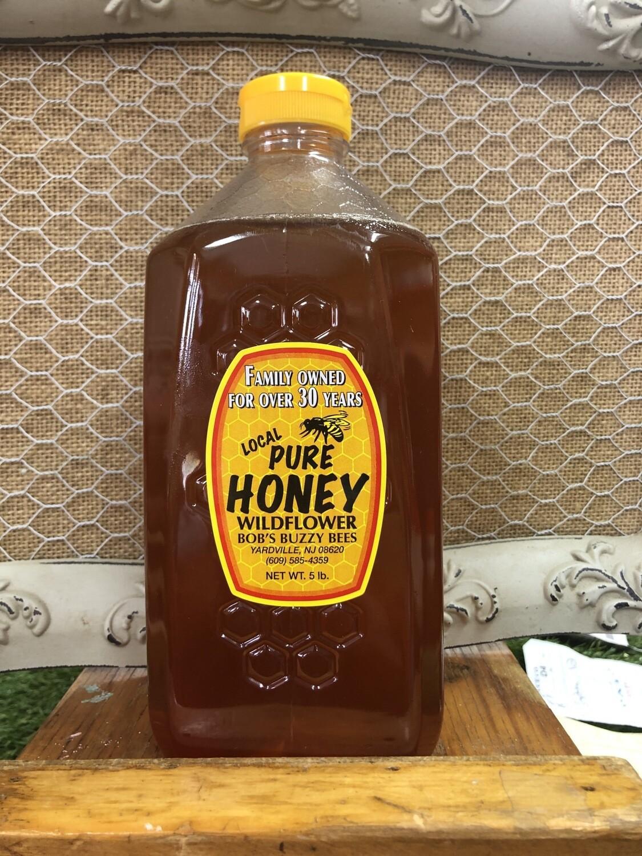 Honey - 5lb Jar, NJ local