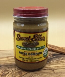 Sweet Ella's Smooth Peanut Butter