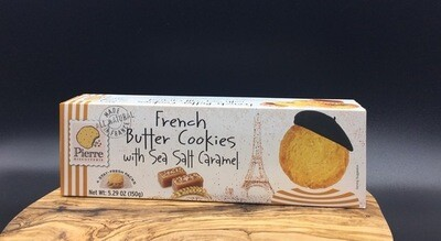 French Butter Coookies - Sea Salt