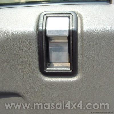 Billet Aluminium Door Locking Pegs (PAIR) For push button doors -Defender