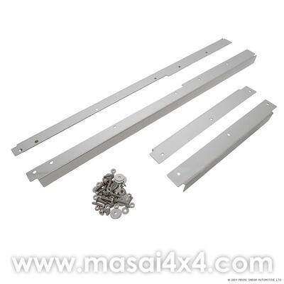Door Threshes Kit - Stainless Steel for Land Rover Defender 110 4-Door