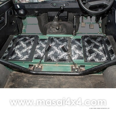 Dynamat Xtreme Sound Deadening Kit - Seat Box for Defender 90/110 Models (Pre 2007)
