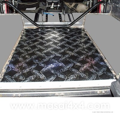 Dynamat Xtreme Sound Deadening Kit - Rear Tub Floor for Defender 90 Models (Pre 2007)