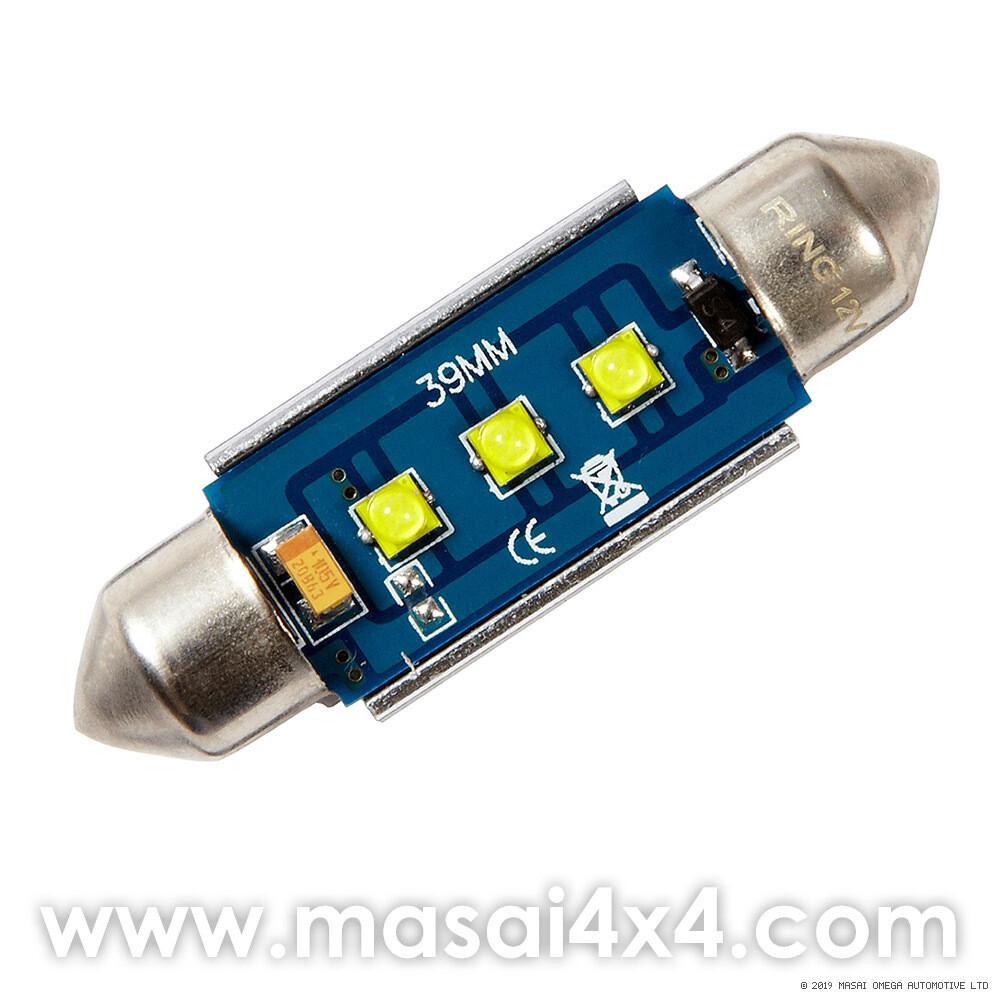 LED Bulb for Interior Lamp on Defender - 200 Lumens 12V / 2W