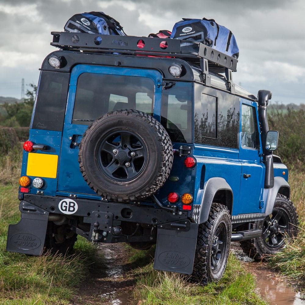Land Rover Parts For Sale: Blue 1999 Land Rover Defender 90 TD5