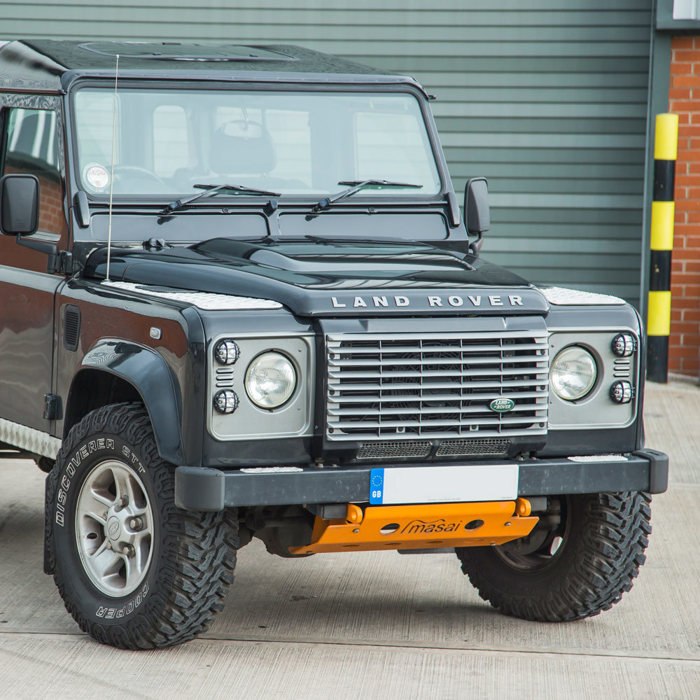 Puma Bonnet (aluminium) For Land Rover Defender