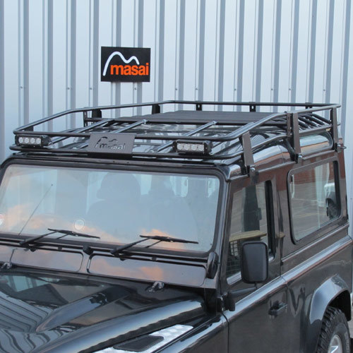 Tubular Roof Rack for Defender 90, Crew Cab and 110 (3 Sizes)