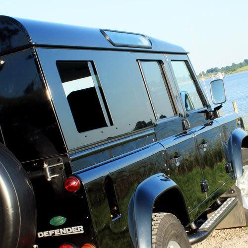 Sliding Masai Panoramic Tinted Windows for Land Rover Defender 110 4-Door
