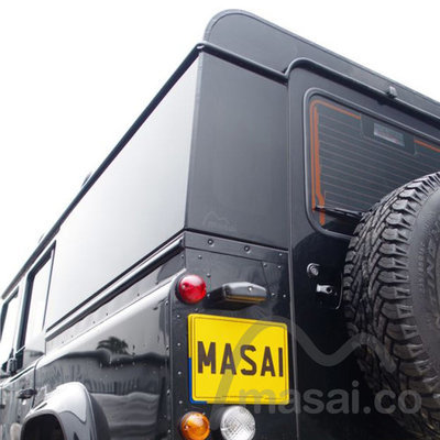 Fixed Masai Panoramic Tinted Windows for Land Rover Defender 110 4-Door