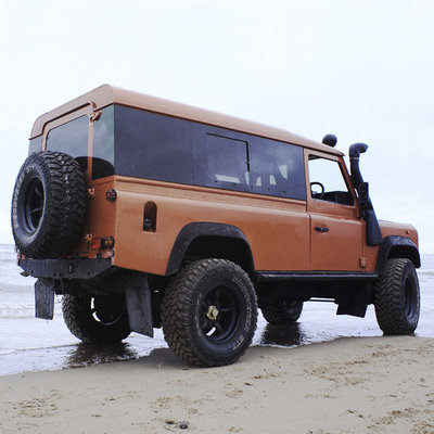 Panoramic Tinted Windows Full Length for Land Rover Defender 110 2-Door Hardtop