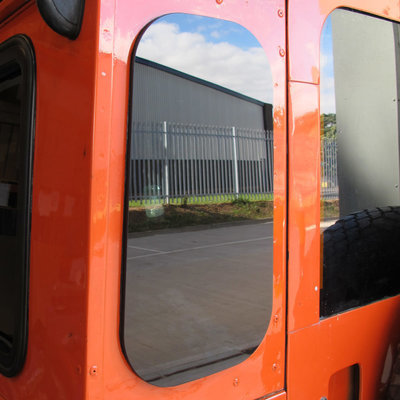 Masai Zeppelin Tinted Rear Quarter Glass Windows for Land Rover Defender (PAIR)