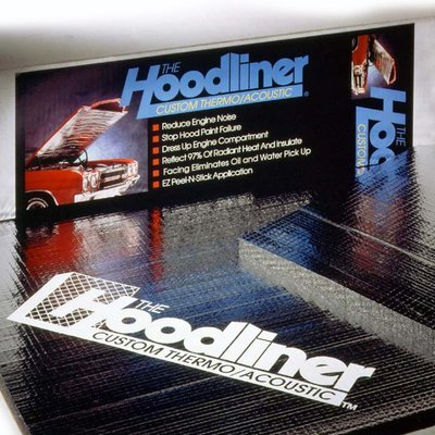 DYNAMAT Hoodliner Heat and Sound Insulation (1 sheet per box)