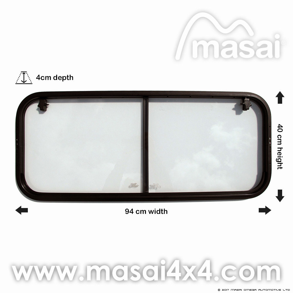 Crew Cab - Side Sliding Window for Defender (4mm Glass) LR044315