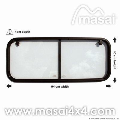 Crew Cab - Side Sliding Window for Defender (4mm Glass) LR044315