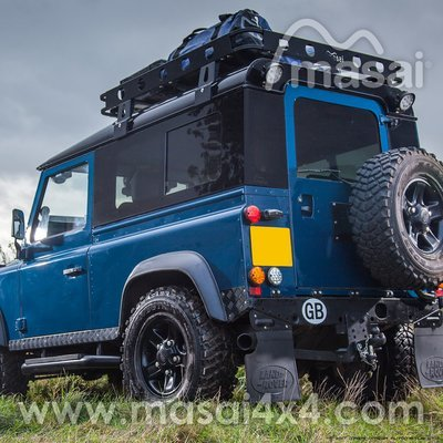 Sliding Masai Panoramic Tinted Windows for Land Rover Defender 90
